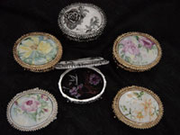 HandPainted Antique Jewelry Boxes